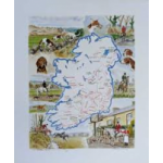 Irish Hunting map