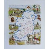Irish Hunting map