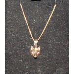 Gold Foxhead Necklace