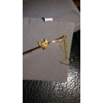 9ct Gold Foxhead Stock Pin